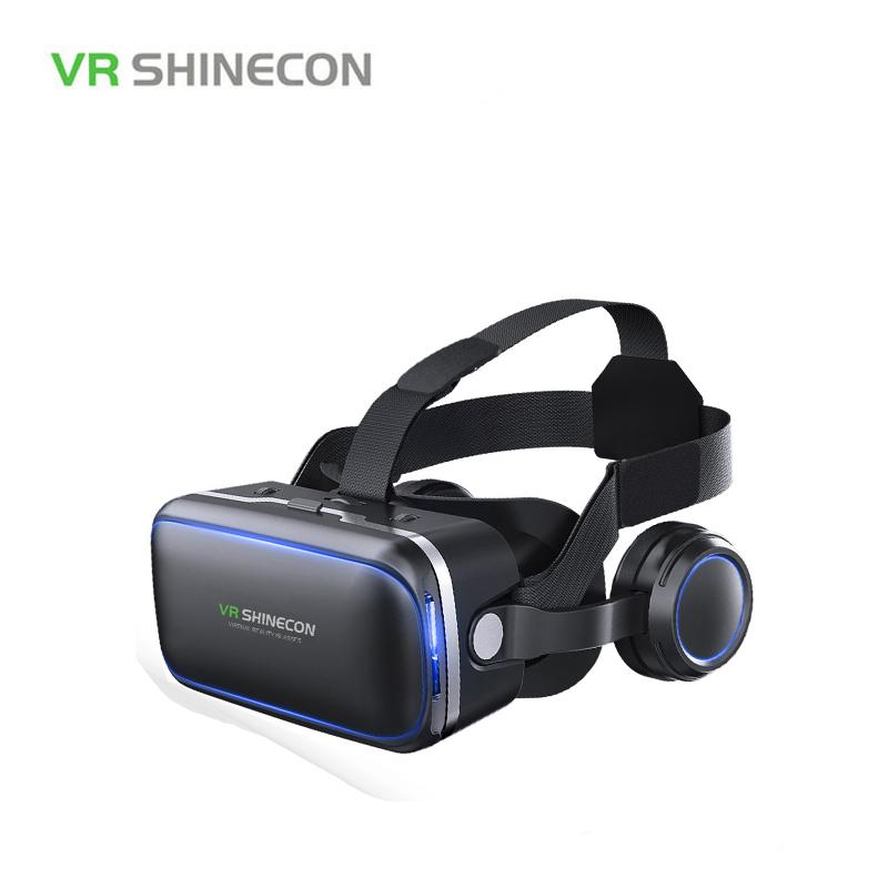 e03691b31876 Shinecon 6.0 Casque VR Virtual Reality Glasses 3 D 3d Goggles Headset  Helmet For Smartphone Smart Phone Google Cardboard Stereo Reading Glasses  Smart ...
