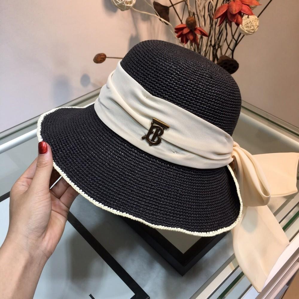 a189a596b Big eaves hat lady sunscreen eaves straw hat fashion full of charm satin  bow ribbon decorative sunshade hat