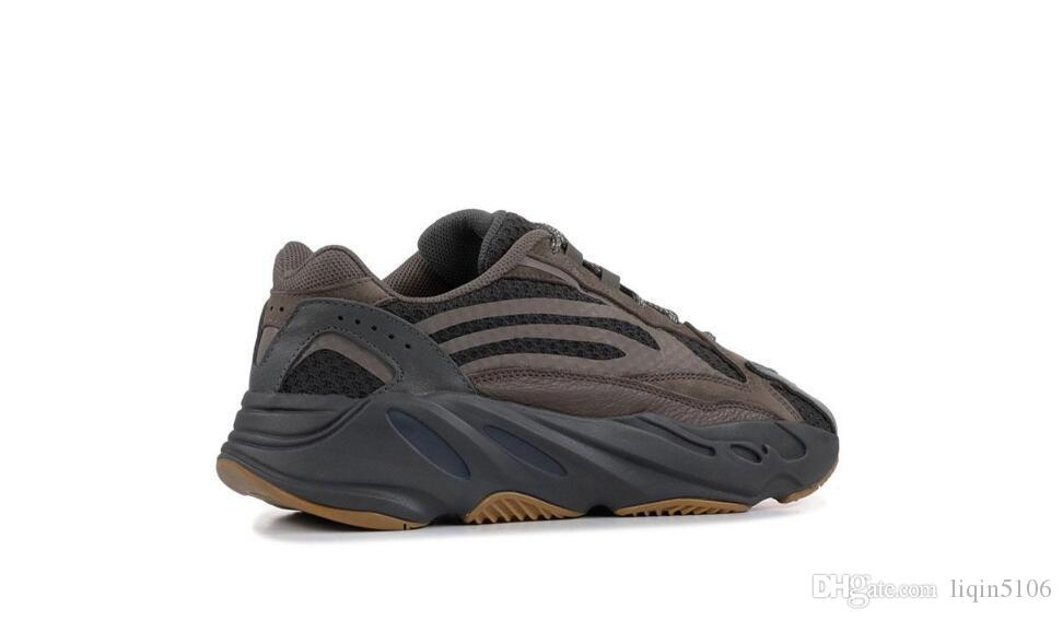 700 V2 Inertia Wave Runner Mens Donne Designer Sneakers New Static Mauve Migliore qualità Kanye West Sport Shoes Con 36-45