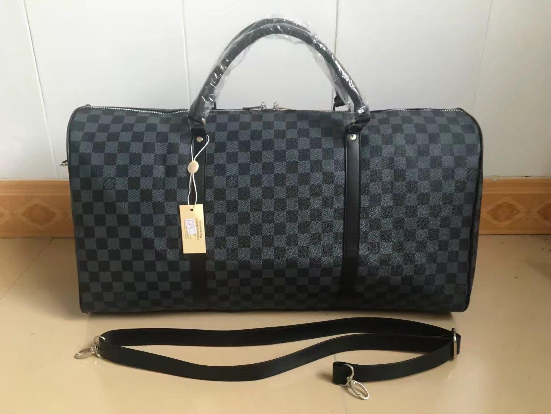 9ec3f8232bc LOUIS VUITTON LV SUPREME Handbags Men Leather Luggage Bag Duffle Bag For  Women Shoulder Bags   Tote Travel Bags KEEPALL 55 N41350 MK AJ LVs GUCCI  PRADA YSL ...