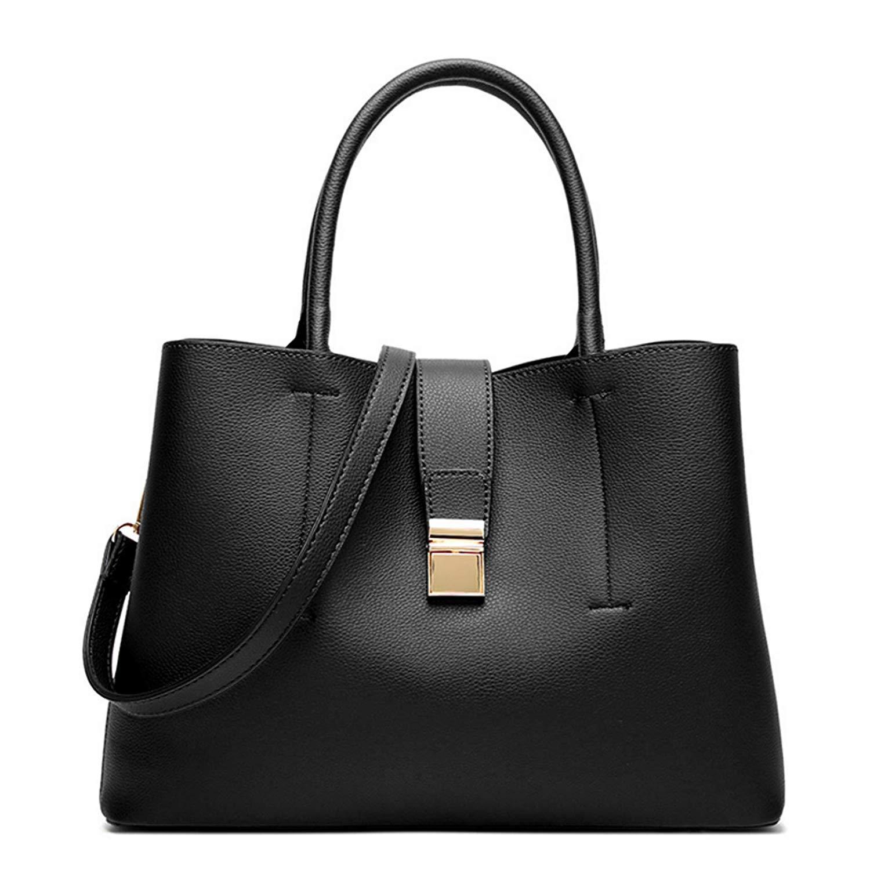 96706409bc31 Women Leather Handbag Tote Bag Hobo Shoulder Bags Soft Satchel Bags For  Lady