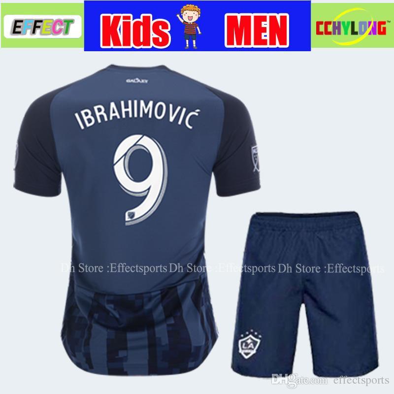 competitive price 003d9 4bccc 2019 LA Galaxy Soccer Jersey NEW 19/20 Youth Boy Child Kids kit Los Angeles  IBRAHIMOVIC GIOVANI DOS SANTOS KAMARA Football Jerseys Shirt