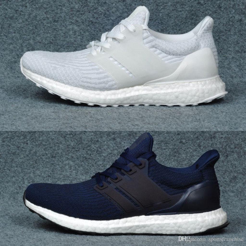 4fa4d8b14ef9 2019 Ultra Boost 3.0 Triple Black White Men S Women S Running Sport Shoes Ultra  Boost 3.0 Shoes Breathable Sneaker Size Eur 36 45 Free Shopping From ...