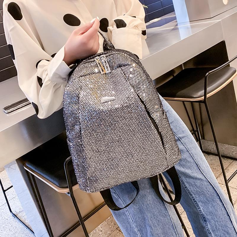 5f1a59c0410d Aelicy Women Color Matching Wild Fashion Leisure Travel Bag Student Bag  Backpack High Quality Lady Women s Backpack Phone Pocket