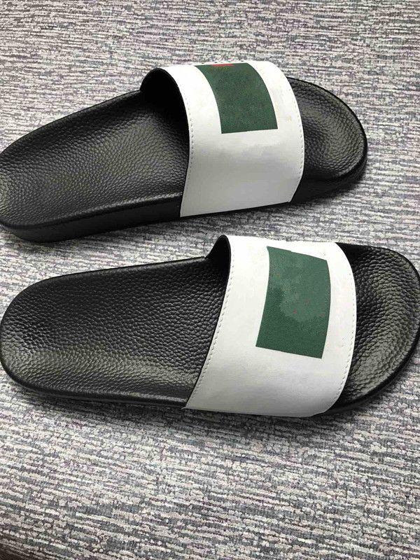 6e4e9a20cbc5 Size 35-46 Men Women Sandals Dust Bag Designer Shoes Snake Print Luxury  Slide Summer Wide Flat Sandals Slipper Hx18102302 Slipper Slippers Flip  Flops Slide ...