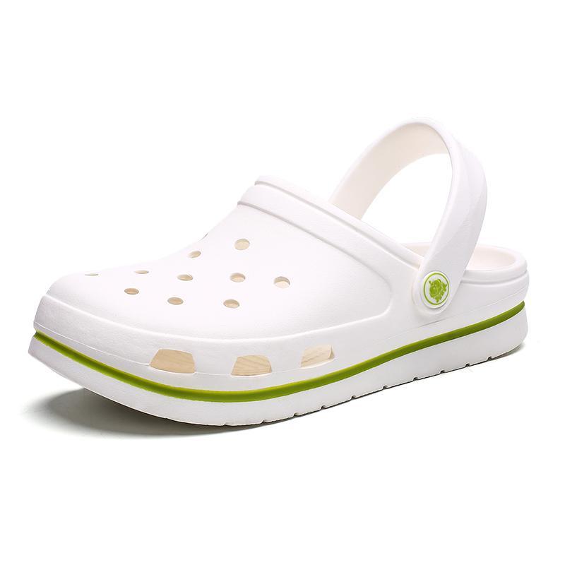 D4 Croc Playa Zapato Sandalet Sandalias Mujer Zapatos 2019 Para Zuecos Crocse Verano De qRc4jS35LA