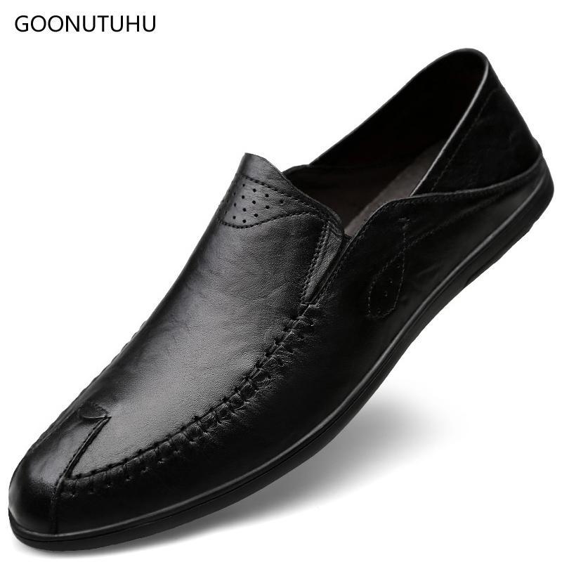 Compre La 2018 Los Zapatos Nueva Hombres Mocasines De Causal Moda rg6arWwq