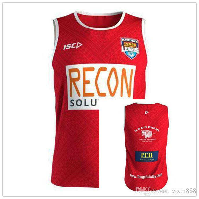 264b0e2ae46 Tonga 2019 Mens Players Training Singlet TONGA NATIONL LEAGUE Jersey  PACIFIC TEST Shirt League Rugby Jerseys MAORI ALL STARS CRUSADERS RUGBY  JERSEY Online ...