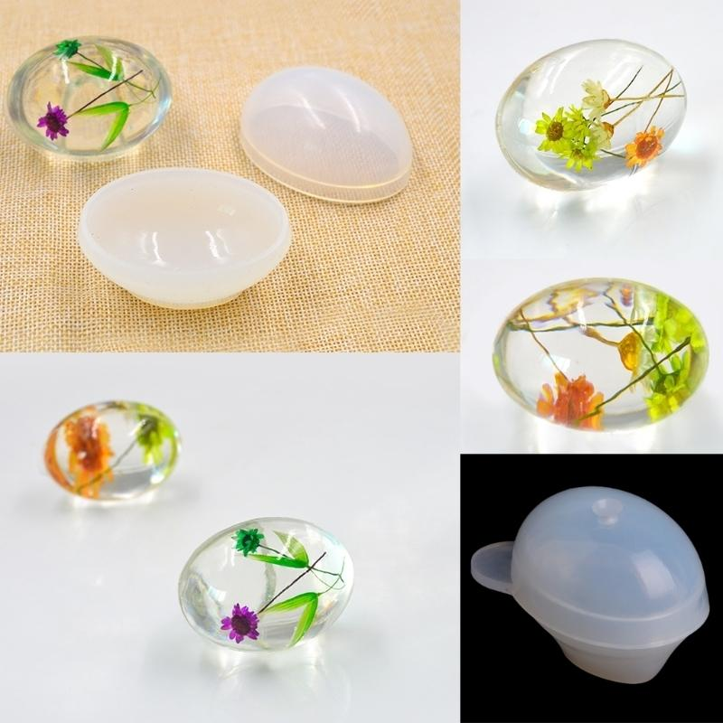 Quail Egg Silicone Mold Resin Mould Epoxy Pendant Craft DIY Jewelry Making  Tool Wholesale