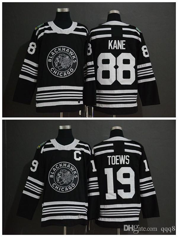 Compre 2019 Clásico De Invierno NHL Chicago Blackhawks Jersey Juventud 19 Jonathan  Toews 88 Patrick Kane Niños Niños Auténticas Camisetas De Hockey Sobre ... 2fa83043a9dcd