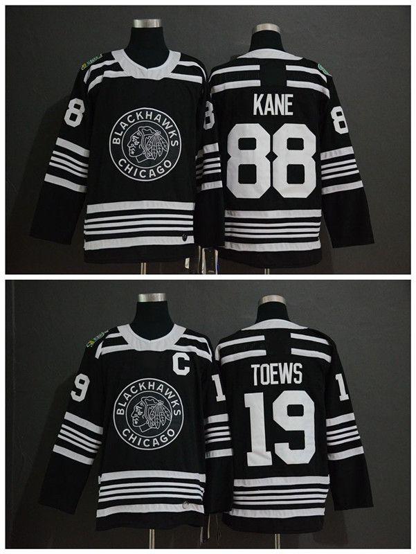 7c35e9fb566 2019 2019 Winter Classic NHL Chicago Blackhawks Jersey Youth 19 Jonathan  Toews 88 Patrick Kane Kids Boys Authentic Stitched Ice Hockey Jerseys From  Qqq8, ...