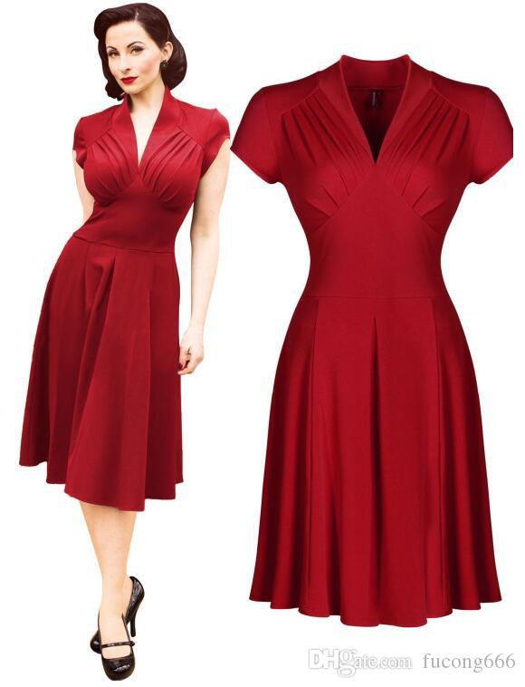 1940s Style Prom Dress