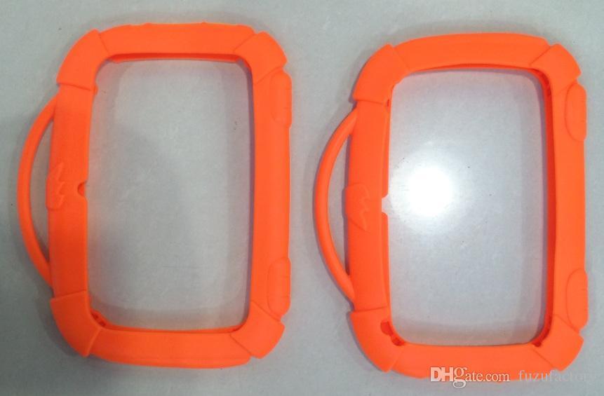 Crianças da caixa de silicone suave Silicon Case Capa protetora de borracha com alça para 7 polegadas Q88 A33 garoto cão Tablet PC MID 4 de cor Frete grátis