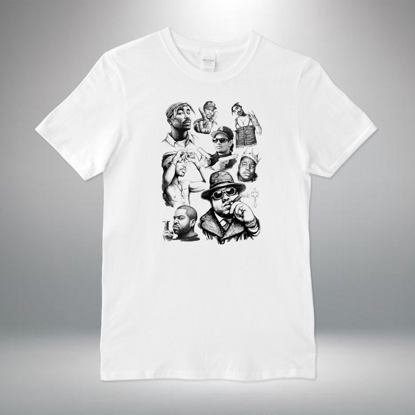 e8f786b8 Rap Legends Hip Hop Biggie Eazy E Ice Tupac T Shirt Vest Top Men Women  Unisex Tie Shirts Latest T Shirt Designs From Belief85, $11.48| DHgate.Com