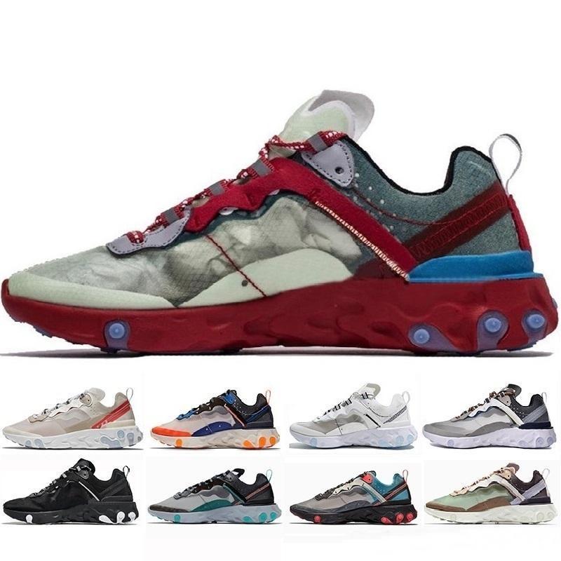 4491ab747771 Epic React Element 87 55 Undercover Men Casual Shoe For Women Sneakers  Sports Mens Trainer 55s 88s Sail Light Bone Sneakers 36 45 Cheap Shoes For  Men Purple ...