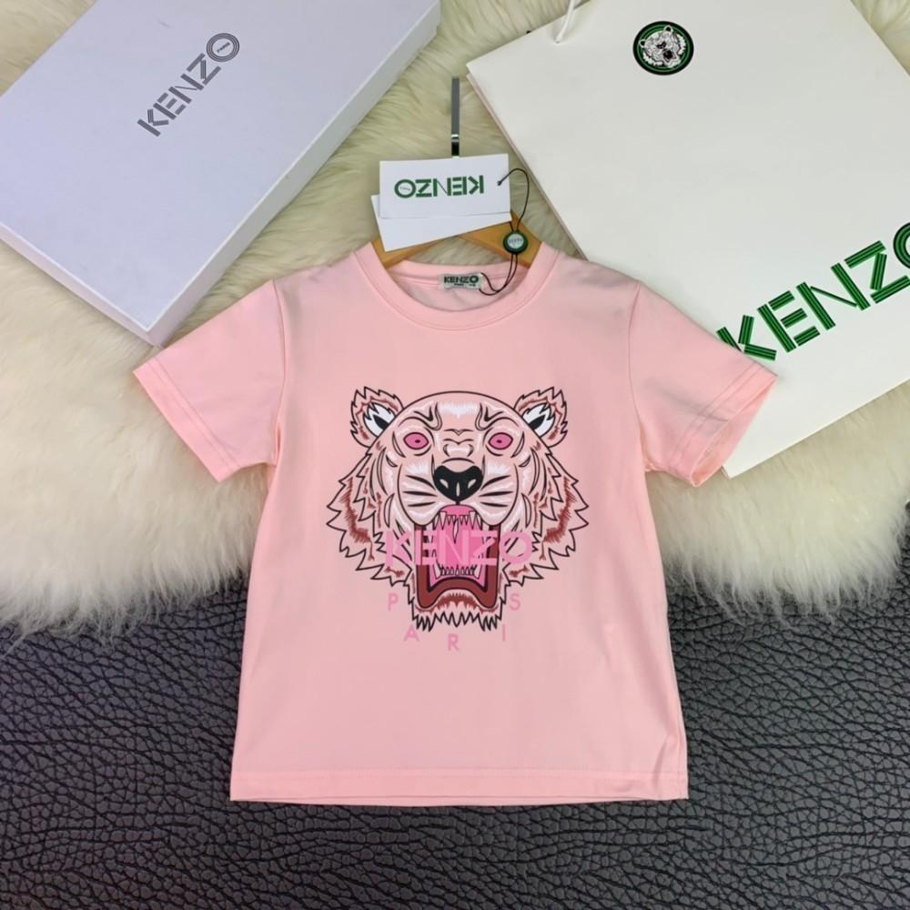 8a9d27434735 2019 New spring summer boy's cute t-shirt high quality cotton style Front  chest tiger head boutique painted print