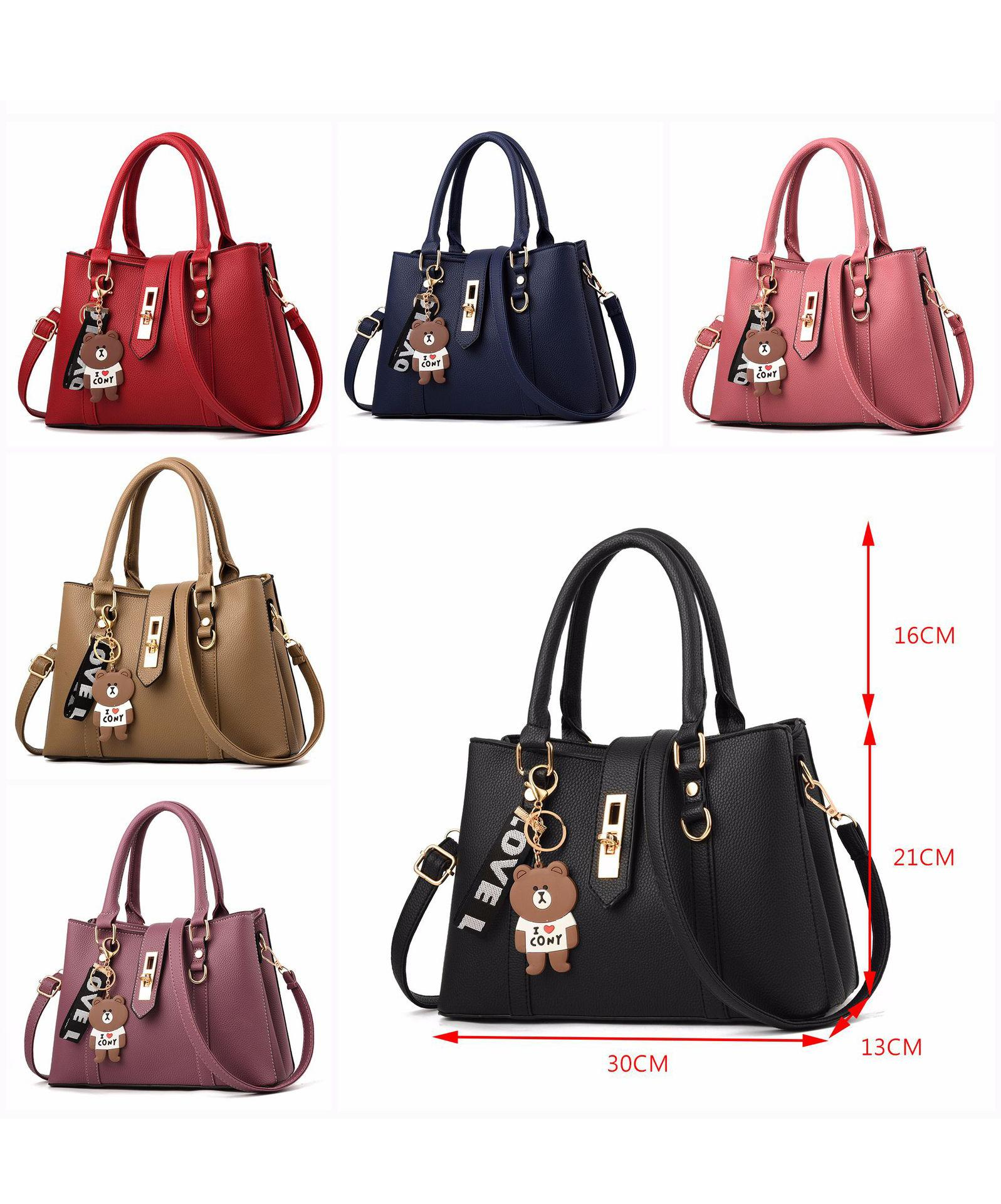 Women Fashion Large Handbags Luxury Designer Lady Totes Bag Leather ... 33521d8bbe372