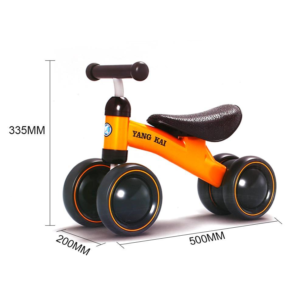 Baby Balance Bike Learn To Walk Get balance sense No Foot Pedal Riding Toys for Kids Baby Toddler 1-3 years