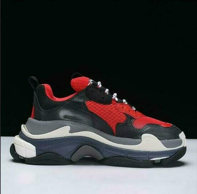 d6d1d4c1d Sport Skechers Mens Dress Sneakers For Men Women Shoes Vintage Kanye West  Triple S Grandpa Trainer Sneaker Fashion Outdoor Boots Navy Shoes Blue Shoes  From ...
