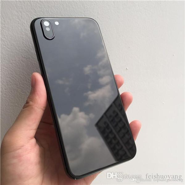310babdd09a Fundas Para Movil Carcasa Trasera Para IPhone 6s 6P 6s 6sP Likes X Funda  Metálica De La Tapa De La Batería Para IPhone X Marco Del Chasis Intermedio  ...