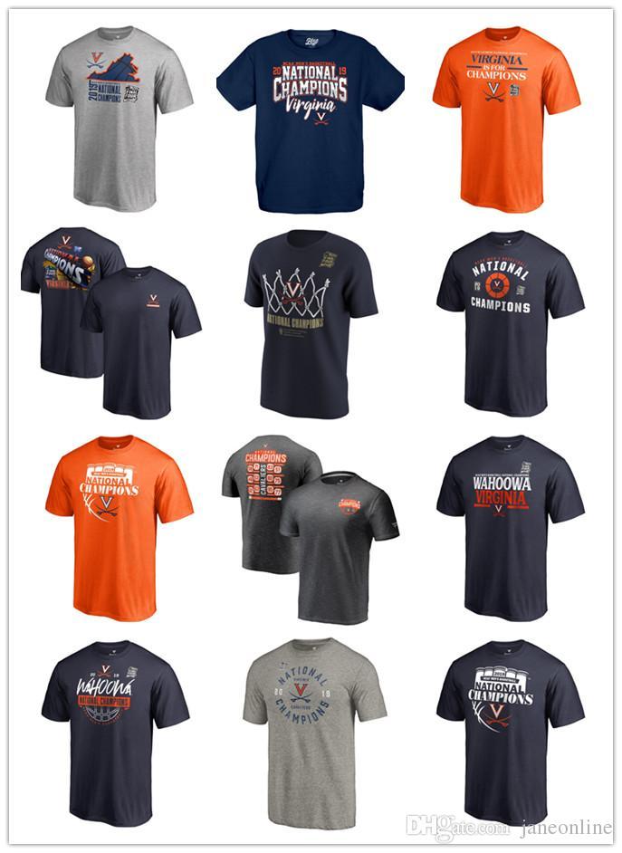 b737acde7294 2019 2019 Final Four Virginia Cavaliers T Shirts Basketball National  Champions Virginia Cavaliers T Shirt Courtside UVA Basketball Shirts From  Janeonline, ...