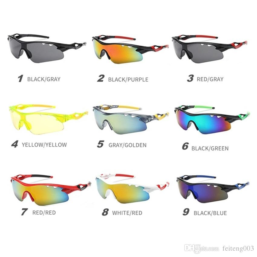 Men Women Sports Sunglasses Bike Cycling Driving Fishing Glasses Eyewear UV400 J