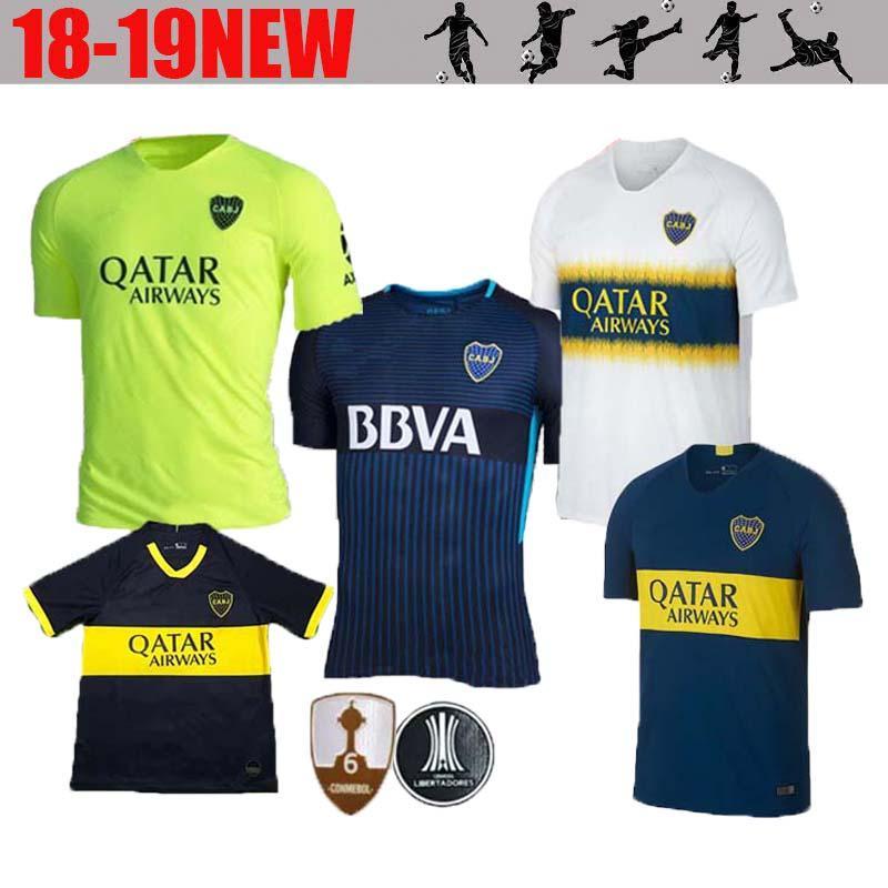 Calidad Tailandesa Boca Junior Tercer Verde 2018 2019 Superliga Argentina  Camisetas De Fútbol 18 19 GAGO   5 CARDONA TEVEZ HOME AWAY Uniformes De  Fútbol Por ... 4389f72c2e781