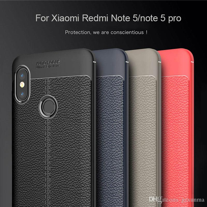hot sale online 61d34 1d972 Silicon Case For Xiaomi Redmi Note 5 Case Bumper Armor Funda Matte Soft TPU  Back Cover For Redmi Note 5 Pro Global Case
