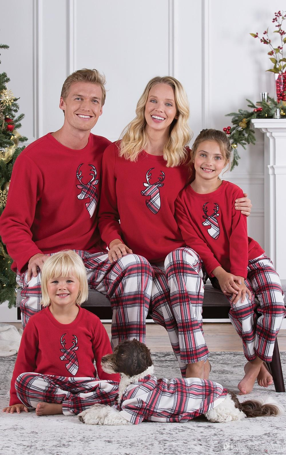 Family Matching Clothes Parent Child Mommy Dad And Me Outfits Kids Christmas  Hoodies Cartoon Santa Claus Deer Winter Pajamas Family Coordinated Outfits  ... 4ba05600f