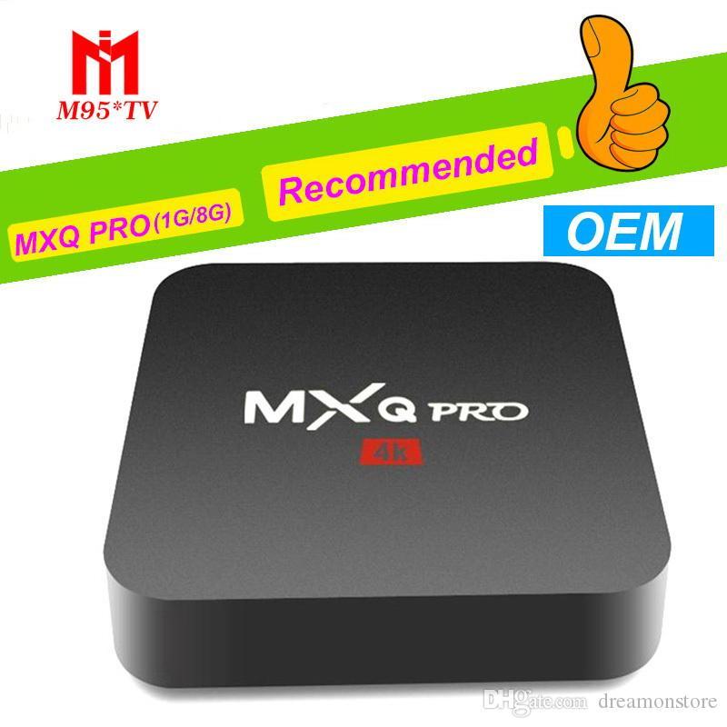 Smart TV Media Player M9S T2 M95 MINI H3 TV BOX Android 7 1 TV Boxes 4K  Genuine Amlogic MXQ PRO 4K 1GB/8GB WiFi Lan Internet IPTV BOX OEM