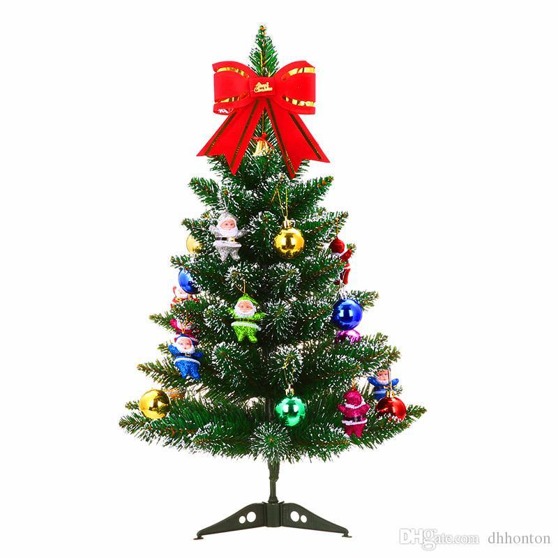 Remarkable Artificial Christmas Trees 60Cm 23 6 Inch Christmas Tree Table With 6 Packages Decoration For Home And Office Decoration Free Sh Home Interior And Landscaping Ologienasavecom