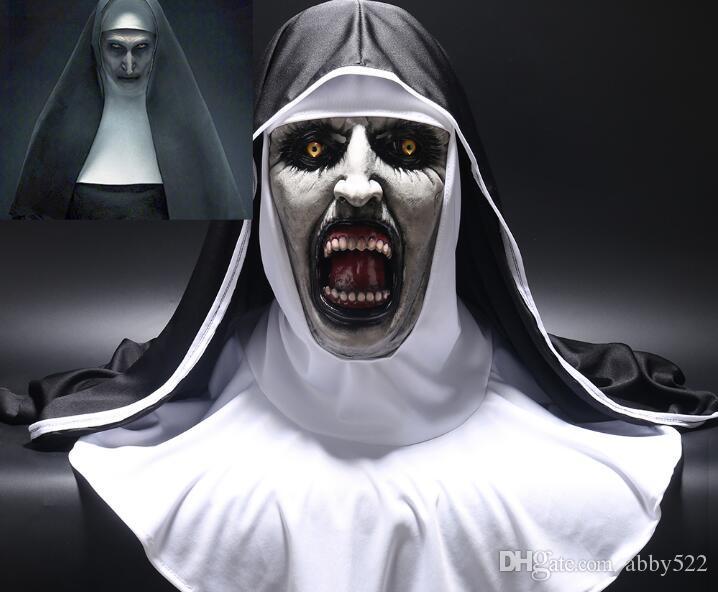 Compre A Máscara De Terror Freira Cosplay Valak Máscaras ...