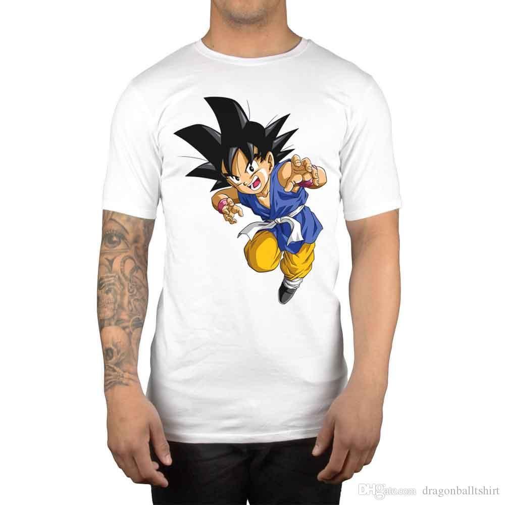 Son Goku Men S T Shirt Anime Manga Dragon Ball Z Japan Kanji Humorous Tee Shirts Design And Order T Shirts From Tigerball 17 56 Dhgate Com