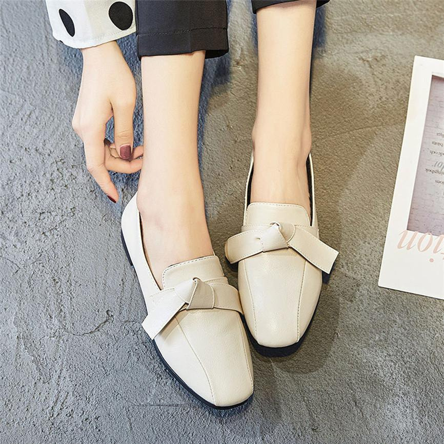 a7e5d916d7 Compre Senhoras Moda Retro Mulheres Arco Bombas Praça Cabeça Plataforma Low  Heeled Peas Sapatos Flats Estilo Britânico Mulheres Sapatos De Sunsnoww, ...
