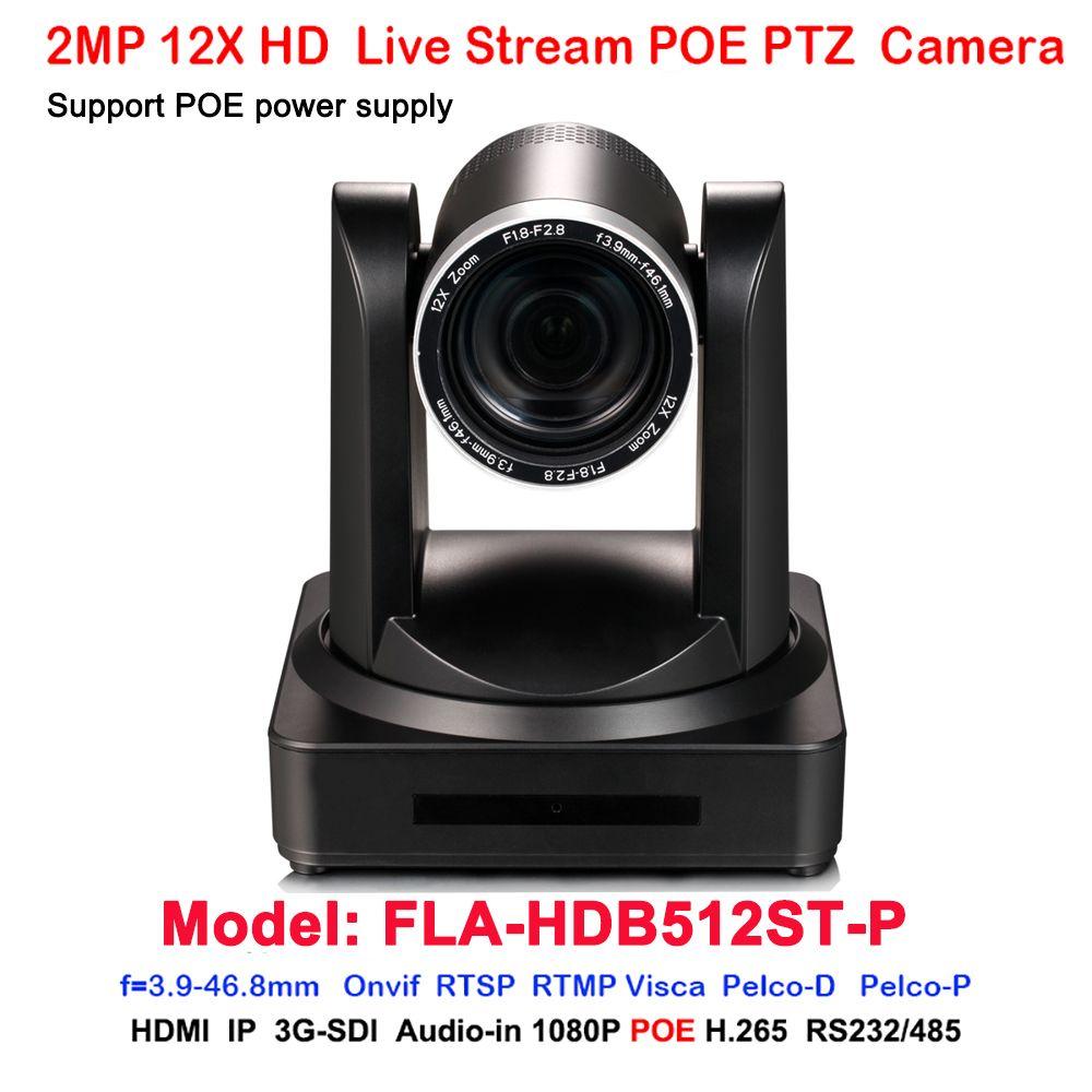 full hd 1080p60fps 3g sdi hdmi ip rj45 network poe video ptz camera 12x  optical zoom h 264 h 265 ip camera monitoring ip camera network from  athenal,