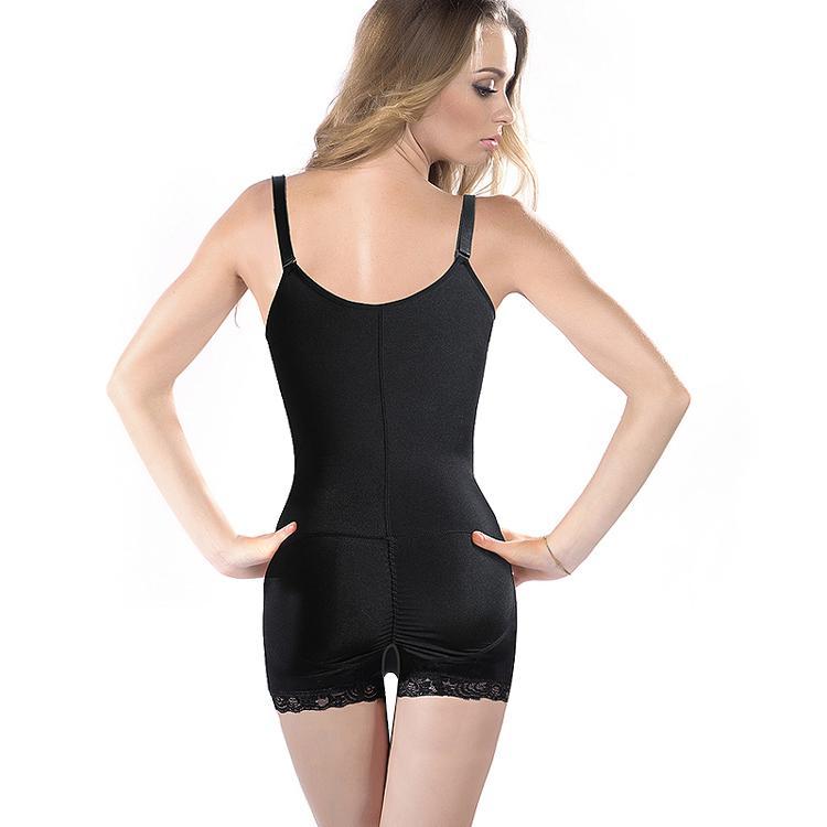 Hirigin Donne Zipper Full Body Shaper Vita Trainer Cincher Underbust Body shapewear