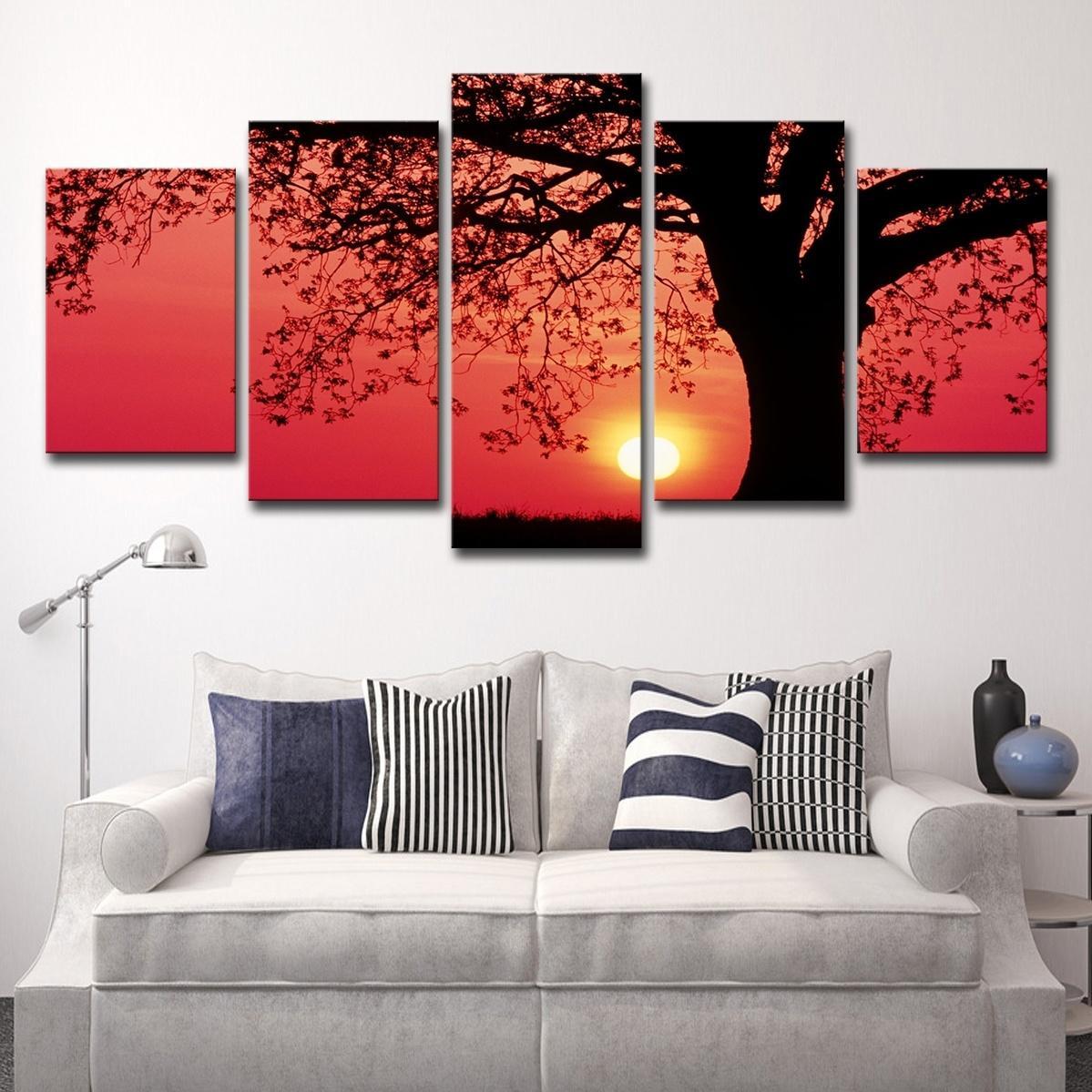 Satın Al 5 Adet Etkileyici Ağacı Semazen Sunset Dusk Peyzaj