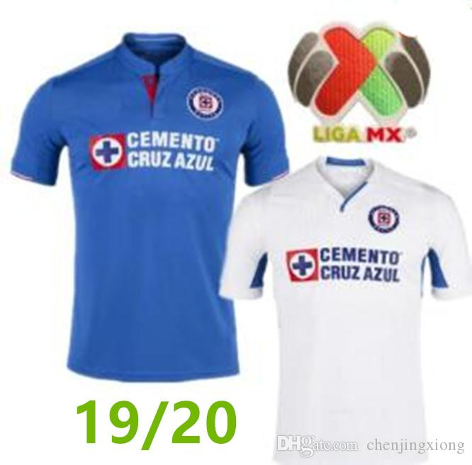 new product 20a8a 9fd73 19 20 CRUZ AZUL Trikot Soccer Home blau MONTOYA Mexico Club CRUZ AZUL  entfernt weißes Trikot 2019 2020 HERNANDEZ