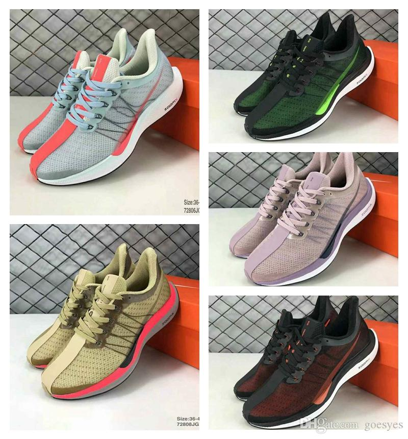 d3ec9313d80b 2019 Zoom Pegasus Turbo Barely Grey Hot Punch Black White Running Shoes Men  Women React Zoom X Vaporfly Pegasus 35 Trainers Zapatos 5-11 Running Shoes  Epic ...