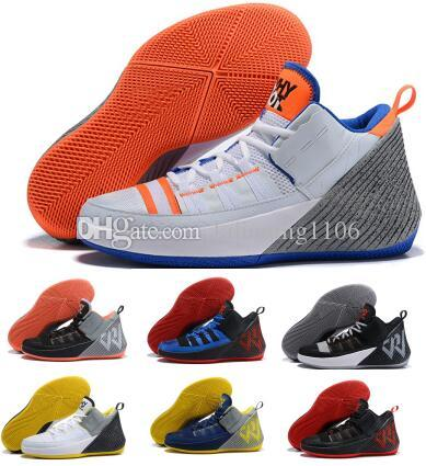 ad89ecfca 2019 Jumpman Russell Westbrook Why Not Zer0.1 Chaos Men Basketball Shoes  Sneakers White Zer Man Trainers Zapatillas Sports Shoes Wholesale Men  Sneakers ...