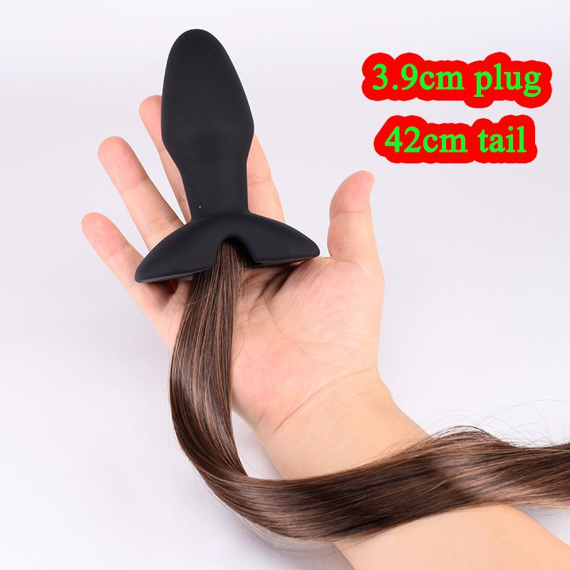 Horse Tail Butt Plugs For Women Large Anal Plug Artificial Tail Adult Game Fetish Sexy Toys Stainless Plugs Use Toys From Angel_ Dhgate Com