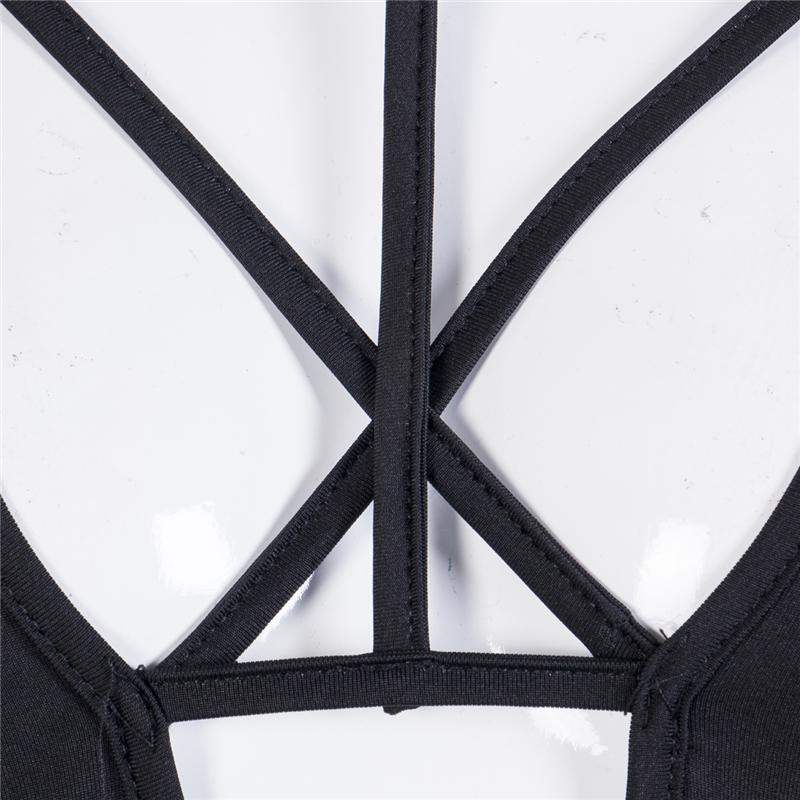 Весна лето с длинным рукавом женщины Сексуальная глубокий V-образным вырезом спереди крест тощий шнуровка Casua боди