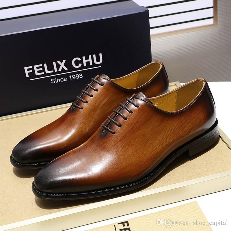 Autumn Mens Dress Pointed Toe Flowers Patent Leather Wedding Party Oxfords Shoes Lace Up Red Blue Green Male Fashion Oxfords Men's Shoes
