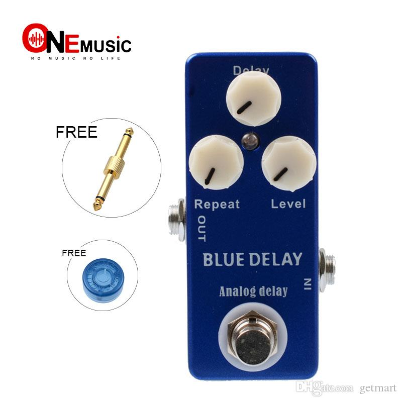 Mosky Mini Effect Pedal Blue Delay Analog Delay Effect Pedal