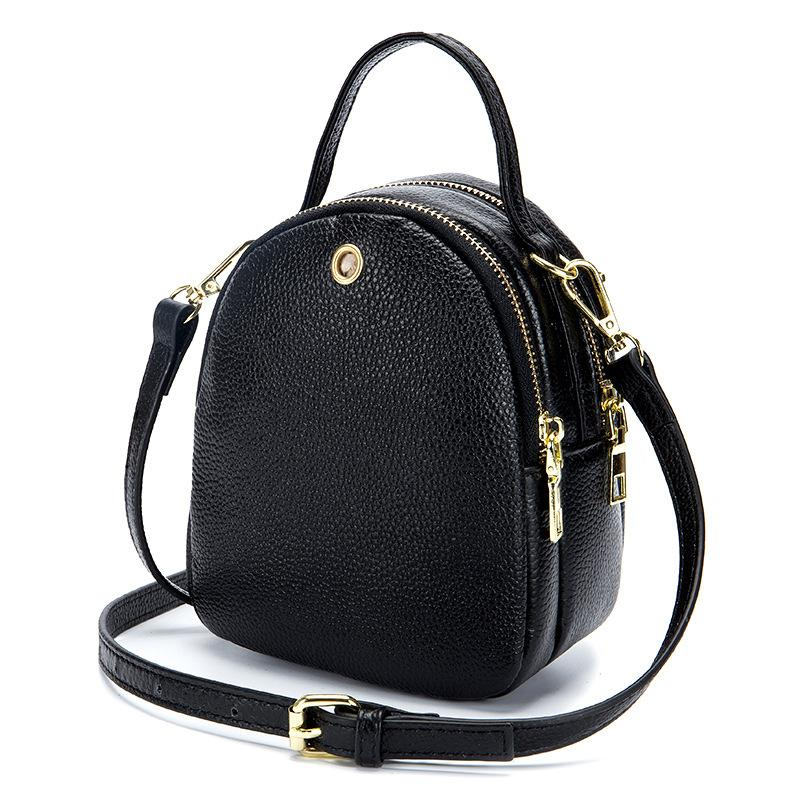 Women bag of genuine leather lady wrist bag with one shoulder strap female handbag bags handbags women famous brands