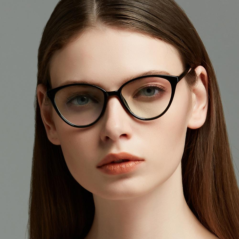 d45561452 2019 Viodream Plastic New Cat Eye Optical Glasses Frame Armacao De Oculos  De Grau Para Mulher Oculos Grau Feminino Spectacle Frame From Milknew, ...