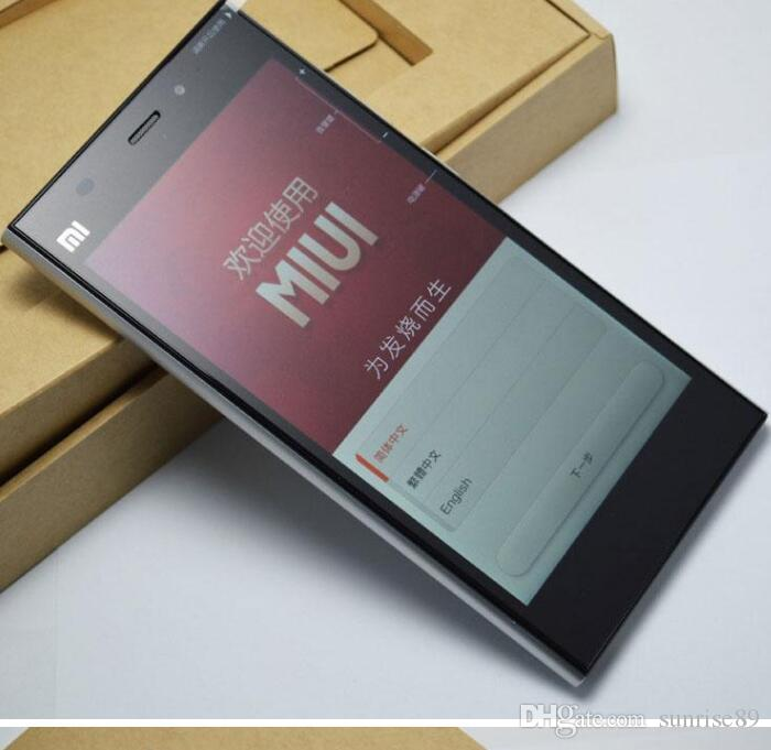 Оригинал Xiaomi Mi3 Qualcomm Quad Core 2 ГБ ОЗУ 16 ГБ ROM 5