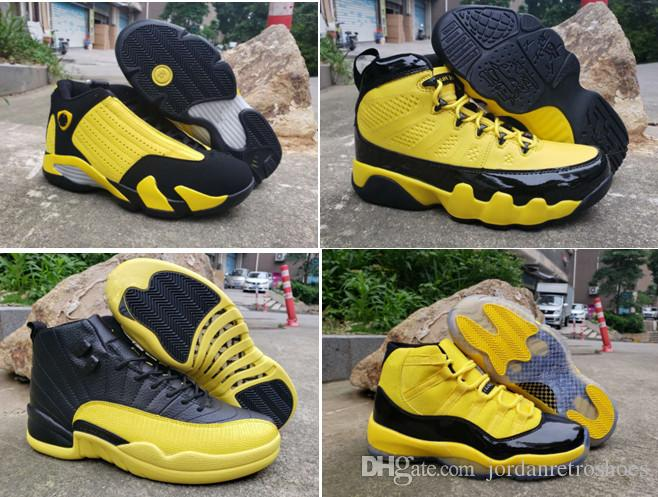 huge selection of 3f036 345f9 New 2019 High Quality Men s Basketball Shoes 11 hornet 11s 12s 14s 9s  Sports Designer Shoes Men Sneakers US Size 7-13