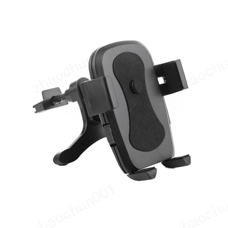 10x Auto Air Vent Mount Ständer für iPhone Samsung Handy Cradle Mount Telefonhalter Unterstützung 360-Grad-Drehung Telefon Zubehör