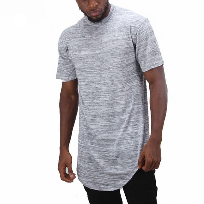 67b3f4c7d Men Hip Hop Tshirt Hipster Longline Curve Hem Streetwear Tee Shirt Man Short  Sleeve Casual Loose Tops Tee Fashion Swag T Shirt Of T Shirts Online Buy T  ...